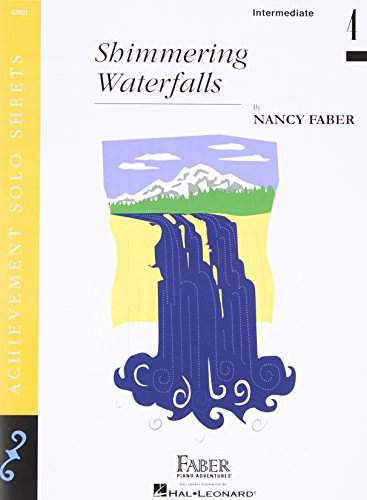 9781616778187: Shimmering Waterfalls - Piano Solo