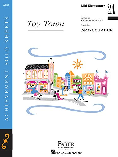 Toy Town - Piano Solo (1616778199) by Nancy Faber