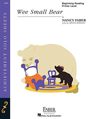 9781616778293: Wee Small Bear - Piano Solo