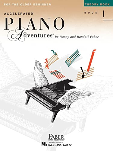9781616779504: Accelerated Piano Adventures for the Older Beginner - Theory Book 1, International Edition