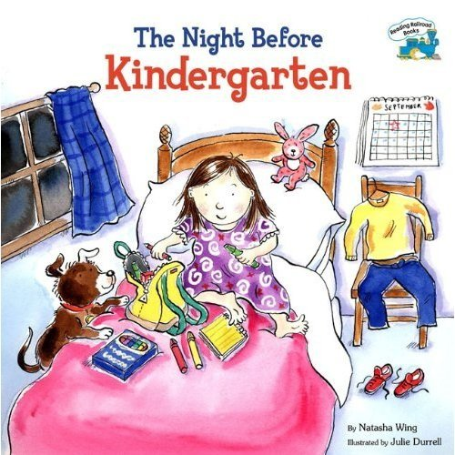 9781616878122: The Night Before Kindergarten (Reading Railroad Books Series)