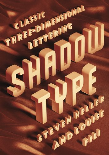 9781616892043: Shadow Type: Classic Three-Dimensional Lettering