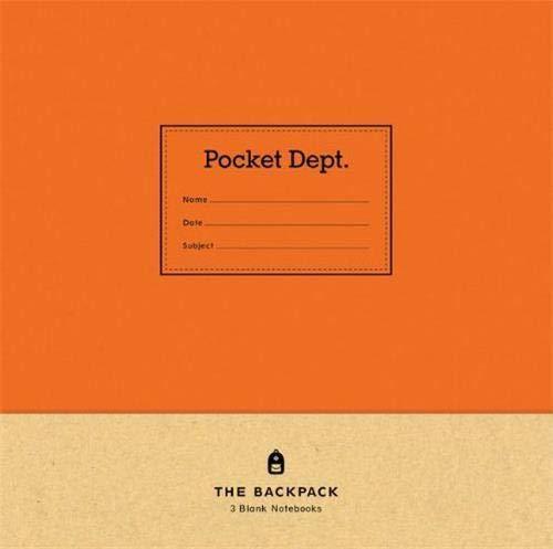 9781616892074: Pocket Dept: The Backpack Notebook Set (Pocket Department)