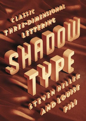 9781616892111: Shadow Type: Classic Three-Dimensional Lettering
