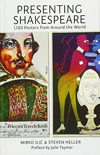9781616892920: Presenting shakespeare : 1 100 posters from around the world