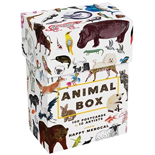 9781616893484: Animal Box: 100 Postcards by 10 Artists