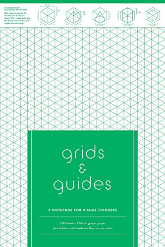 9781616893705: Grids and guides : 3 notepads for visual thinkers