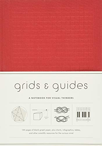 9781616894221: Grids & Guides - Red: A Notebook for Visual Thinkers