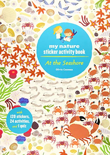 At the Seashore: My Nature Sticker Activity Book: Olivia Cosneau