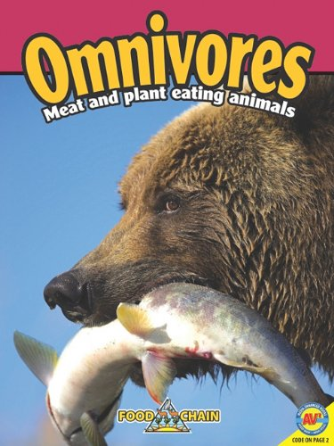 9781616907150: Omnivores: Animals That Eat Meat and Plants (Food Chains)