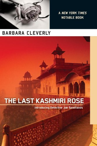 9781616950026: The Last Kashmiri Rose (A Detective Joe Sandilands Novel)
