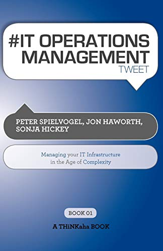 9781616990527: # It Operations Management Tweet Book01: Managing Your It Infrastructure in the Age of Complexity