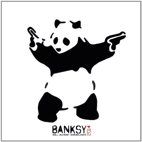 9781617011931: Banksy 2014 Calendar (English, German and French Edition)