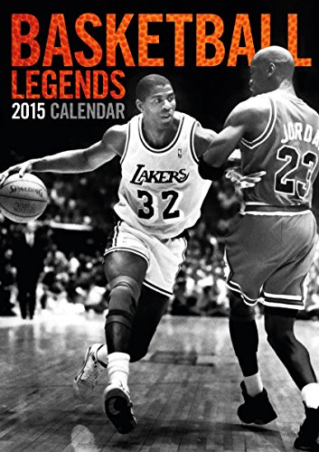 9781617013027: Basketball Legends 2015 Calendar