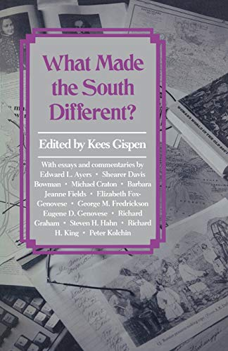 9781617030628: What Made the South Different?
