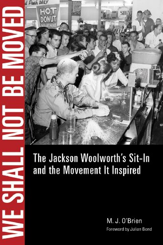 9781617037436: We Shall Not Be Moved: The Jackson Woolworth's Sit-In and the Movement It Inspired