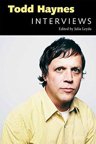 9781617039836: Todd Haynes: Interviews (Conversations with Filmmakers Series)