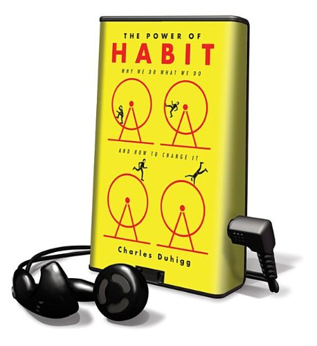 9781617072338: The Power of Habit: Why We Do What We Do in Life and Business (Playaway Adult Nonfiction)