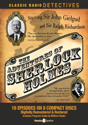 9781617090219: The Adventures of Sherlock Holmes (Classic Radio Detectives)