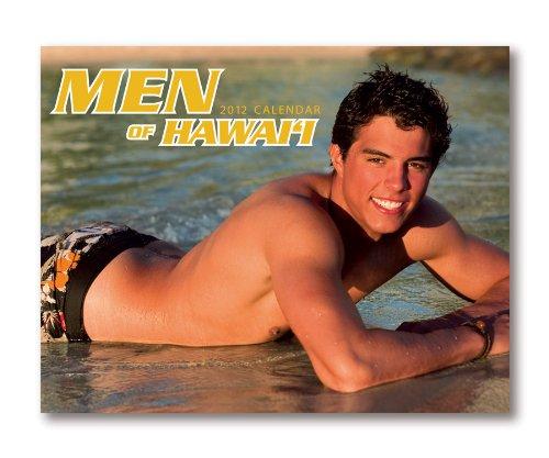 9781617100314: Men of Hawai'i 2012 16-Month Trade Calendar