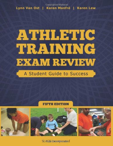 9781617116131: Athletic Training Exam Review: A Student Guide to Success