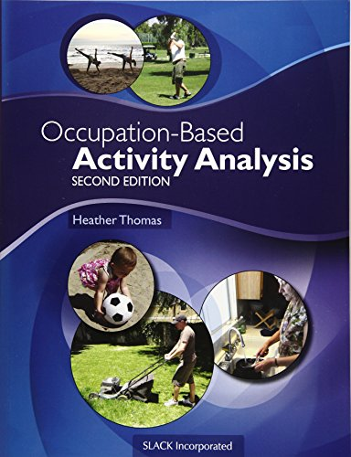 9781617119675: Occupation-Based Activity Analysis