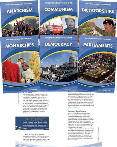 Exploring World Governments (Hardback): A M Buckley, Linda Cernak