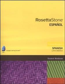 9781617163852: Rosetta Stone. Español, Student Workbook, Level 1