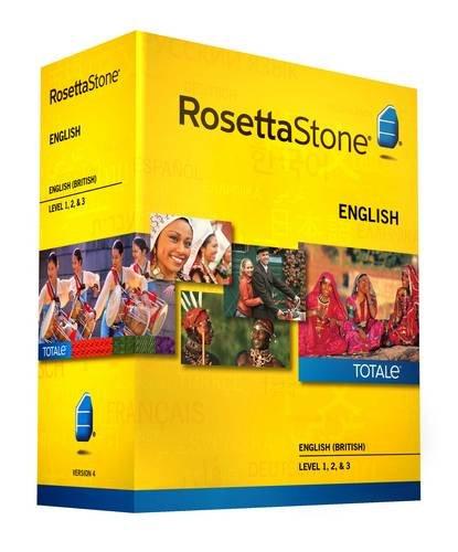 9781617165955: Rosetta Stone Version 4 TOTALe: English (British) Level 1, 2 & 3 (Mac/PC)