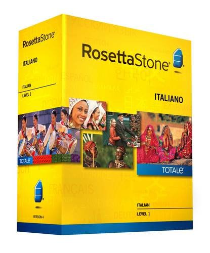 9781617166457: Rosetta Stone Version 4 TOTALe: Italian Level 1 (Mac/PC)