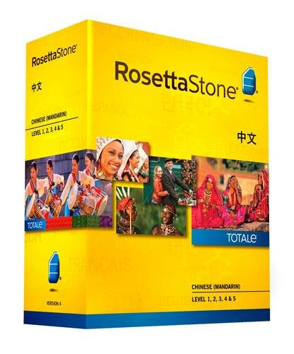 9781617168741: Rosetta Stone Version 4 TOTALe: Chinese Level 1, 2, 3, 4 & 5 (PC/MAC)