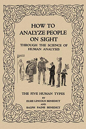 9781617204364: How to Analyze People on Sight