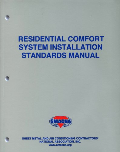 9781617210648: Residential Comfort System Installation Standards Manual
