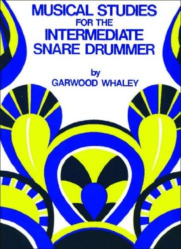 JRP34 - Musical Studies for Intermediate Snare Drum: Garwood Whaley