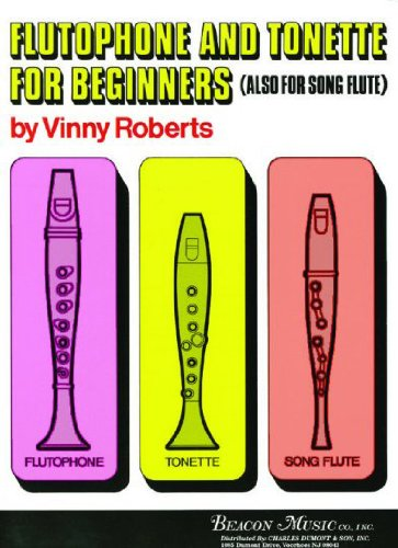 50394330 - Flutophone and Tonette for Beginners: Vinny Roberts