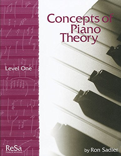 9781617271250: CPT1 - Concepts of Piano Theory Level 1