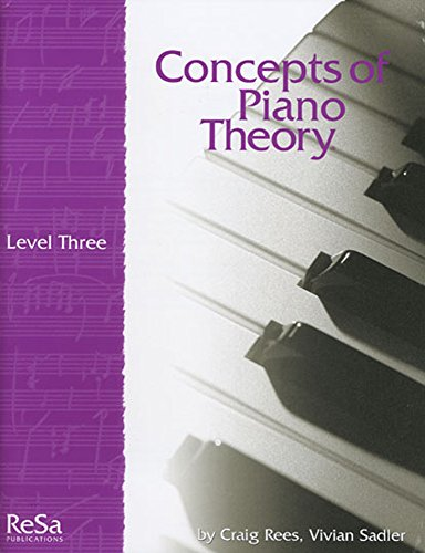 9781617271274: CPT3 - Concepts of Piano Theory Level 3