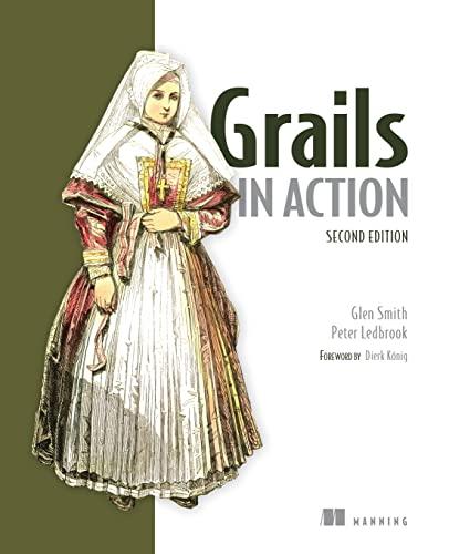 9781617290961: Grails in Action