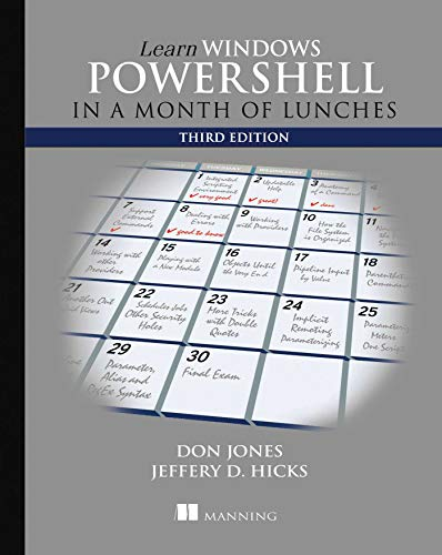 9781617294167: Learn Windows PowerShell in a Month of Lunches