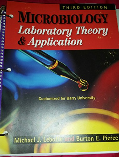 9781617313554: Microbiology Laboratory Theory and Application