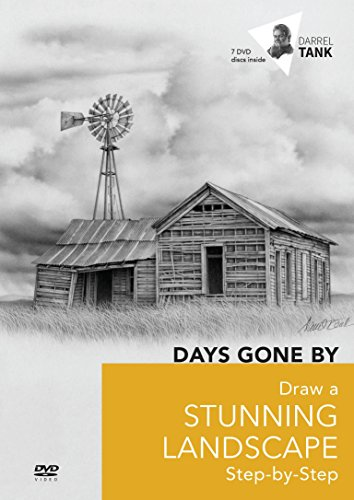 9781617320354: DAYS GONE BY Draw a Stunning Landscape Step-by-Step