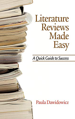 9781617351921: Literature Reviews Made Easy: A Quick Guide to Success (Hc)