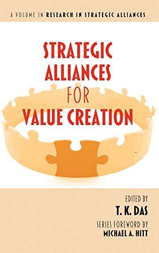 9781617356933: Strategic Alliances for Value Creation (Hc) (Research in Strategic Alliances)