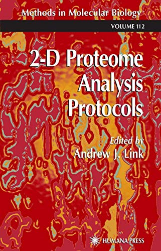 9781617370601: 2-D Proteome Analysis Protocols (Methods in Molecular Biology)