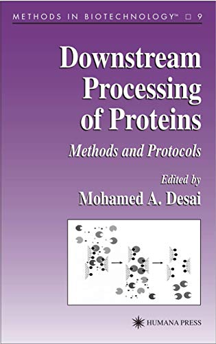 9781617370755: Downstream Processing of Proteins: Methods and Protocols (Methods in Biotechnology)