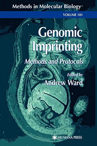 9781617371646: Genomic Imprinting: Methods and Protocols (Methods in Molecular Biology)