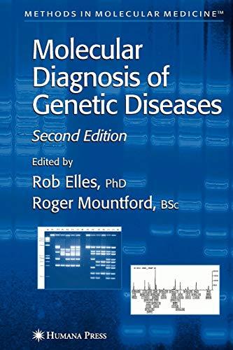 9781617372599: Molecular Diagnosis of Genetic Diseases (Methods in Molecular Medicine)