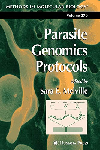 9781617373312: Parasite Genomics Protocols (Methods in Molecular Biology)