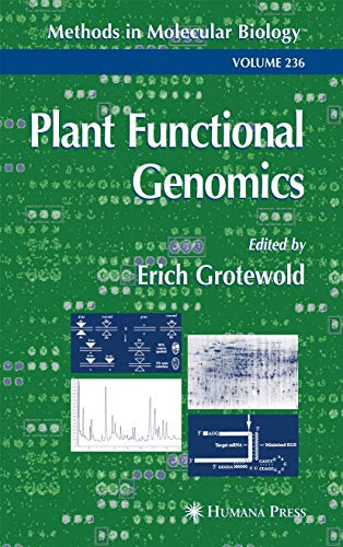 9781617373862: Plant Functional Genomics: Methods and Protocols (Methods in Molecular Biology)
