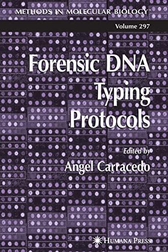 9781617374623: Forensic DNA Typing Protocols (Methods in Molecular Biology)